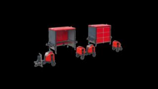 Modulare Logistikzüge von Linde Material Handling