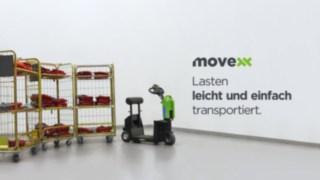Movexx Ziehhilfe mit LKE Anhängern