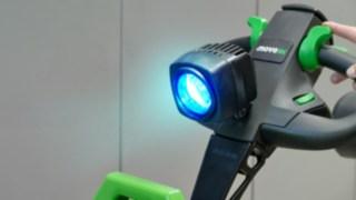 Optische Warneinrichtung / Blue Spot