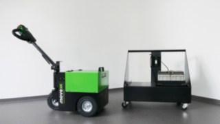 Mobile Batteriewechselstation
