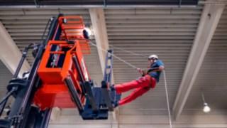 Sander Training zur Höhenrettung