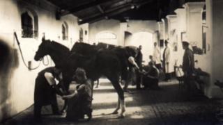 Werkzeugschmiede im Jahr 1904