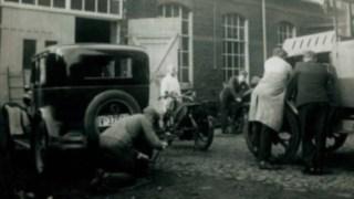 Kfz-Werkstatt im Jahre 1918