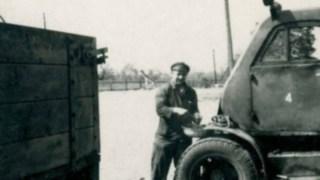 Stapler-Service an altem Gabelstapler