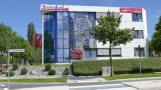 Firmengebäude der Sander Fördertechnik