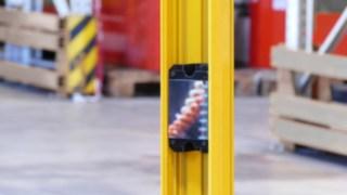 Prüfstand Sicherheitsbereich mit Laserschranke