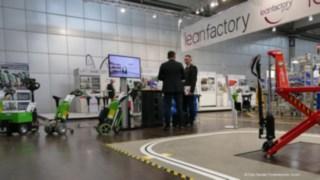 Effiziente Fabrik auf der Intec 2017