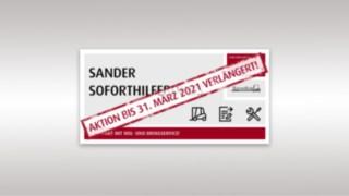 Sander_Soforthilfebonus jetzt mit Hol- und Bringservice