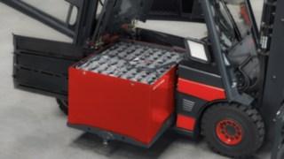 Gabelstapler mit Blei-Säure-Batterie