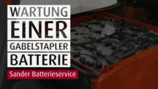 YouTube Thumb Sander Batteriewartung